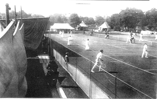 Tournament in Pavilion Gardens